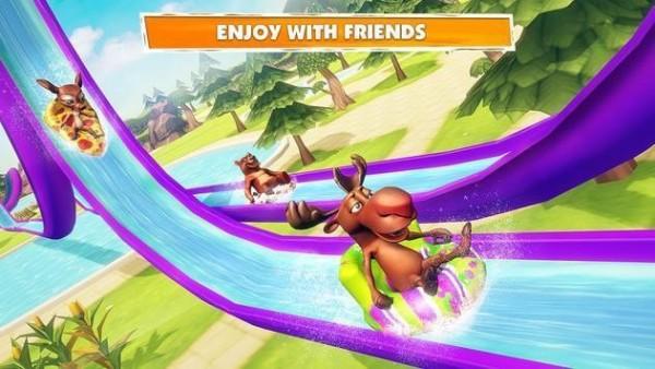 动物们的泳池之旅(1)